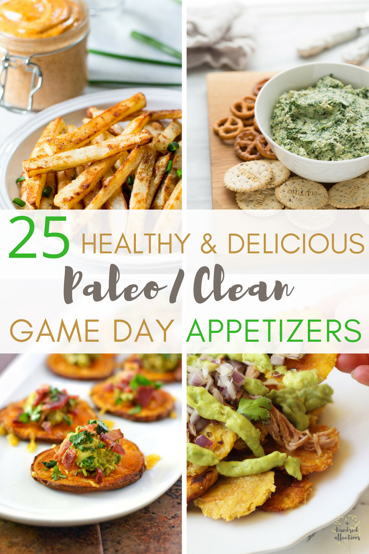 Healthy Football Appetizers  25 Healthy and Delicious Paleo Clean Game Day Appetizers