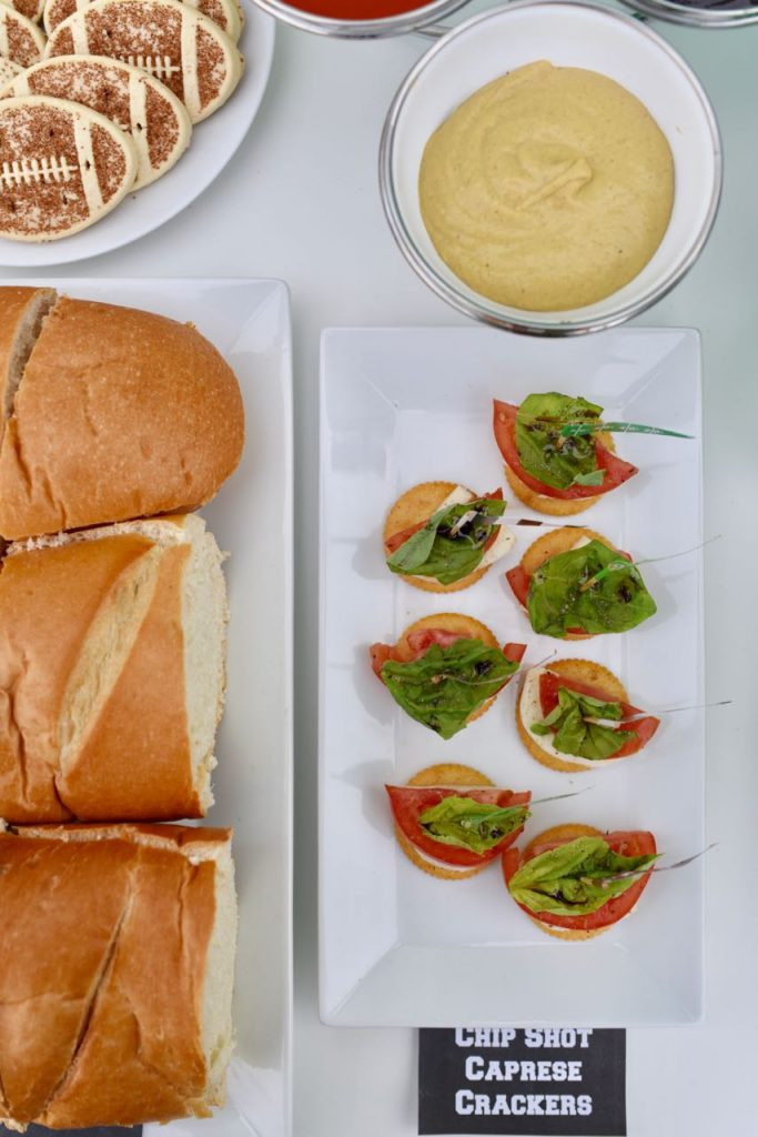 Healthy Football Appetizers  Healthy Football Party Caprese Appetizer Recipe Make