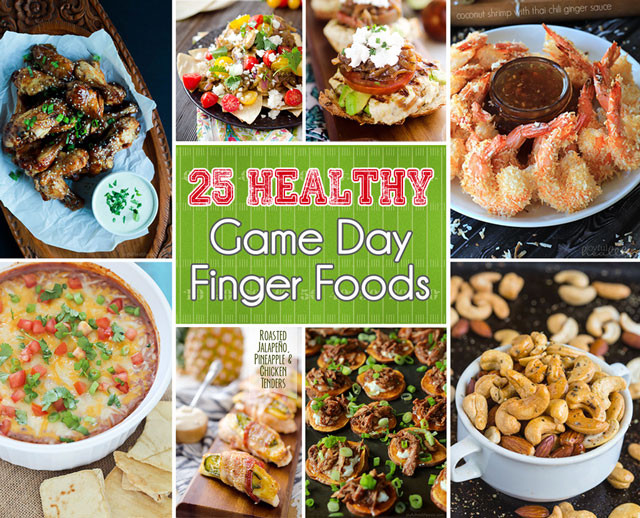 Healthy Football Game Appetizers  25 Healthy Game Day Finger Foods