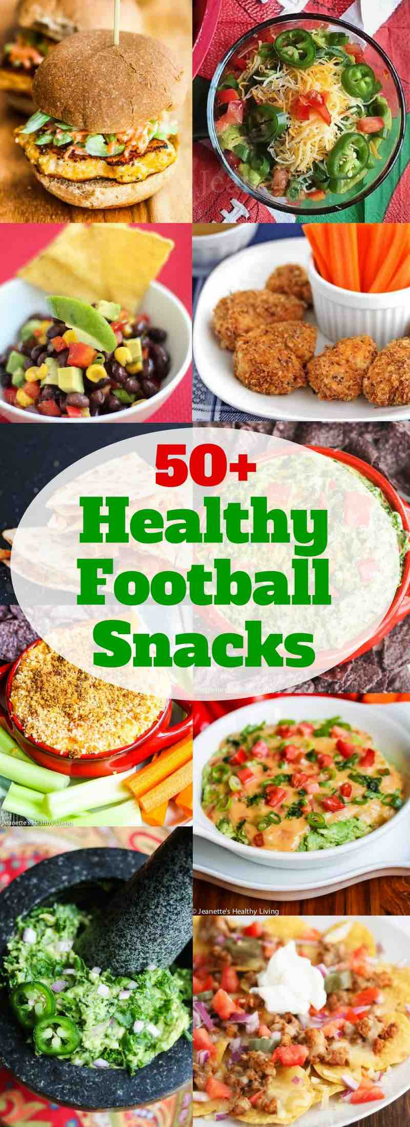 Healthy Football Game Appetizers  50 Healthy Football Snacks Jeanette s Healthy Living