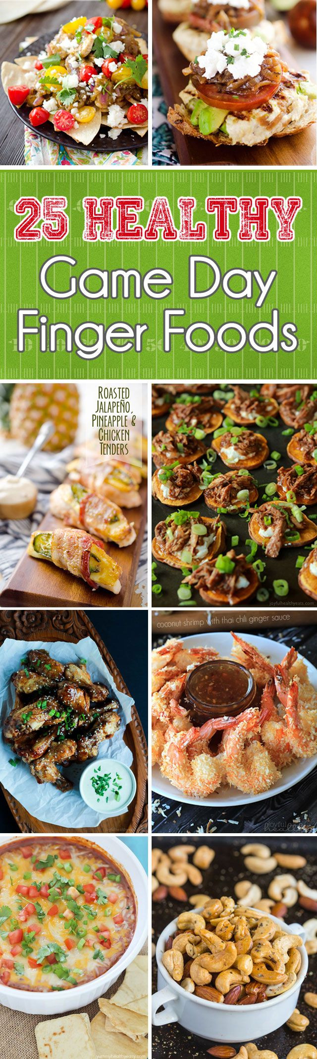 Healthy Football Game Appetizers  The 25 best Healthy finger foods ideas on Pinterest