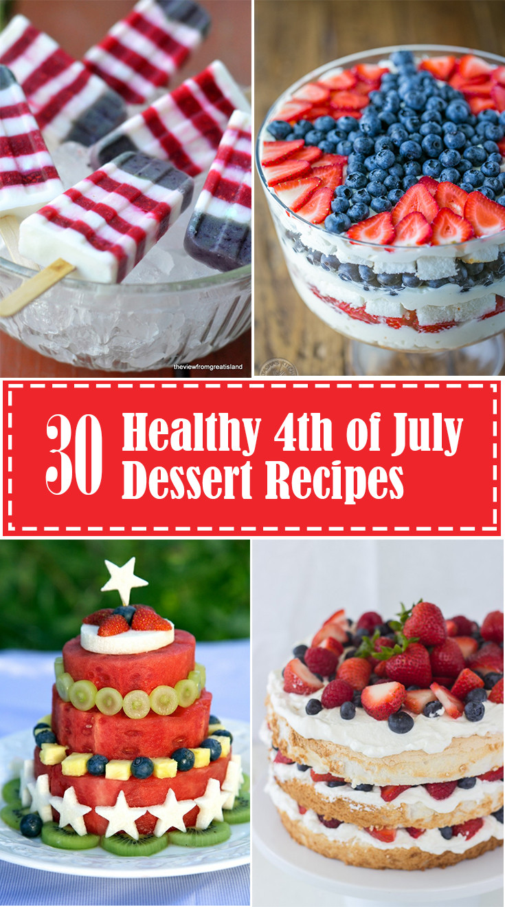 Healthy Fourth Of July Desserts  Healthy 4th of July Desserts Eating Richly