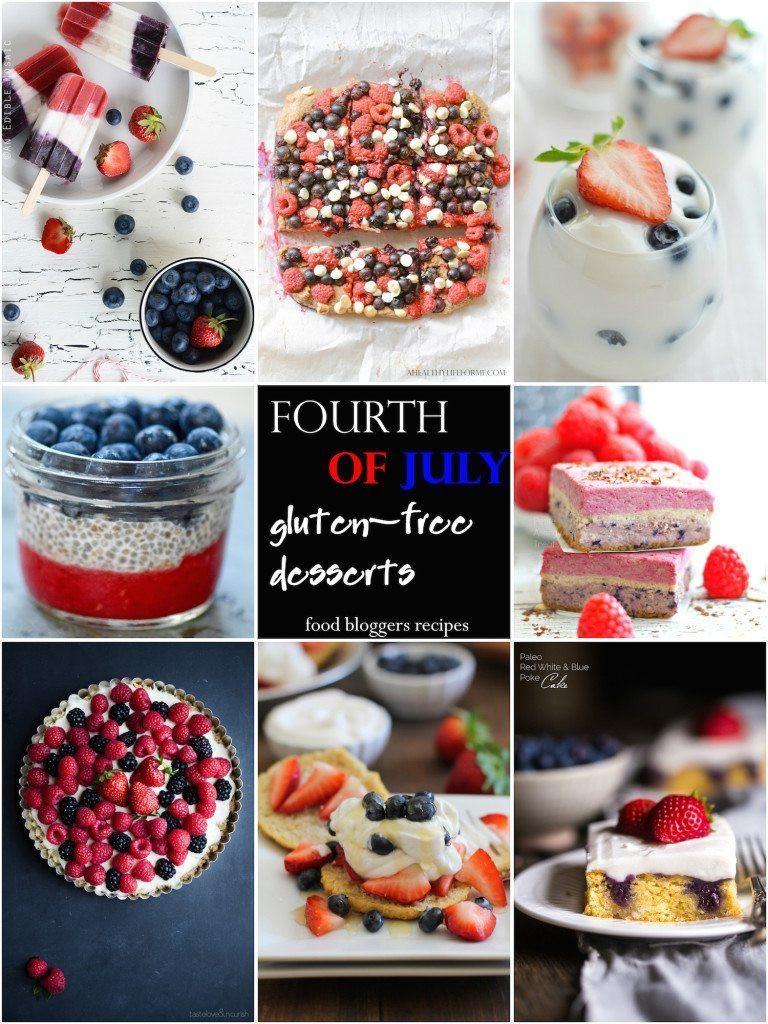 Healthy Fourth Of July Desserts  20 Gluten Free Fourth of July Desserts A Healthy Life For Me