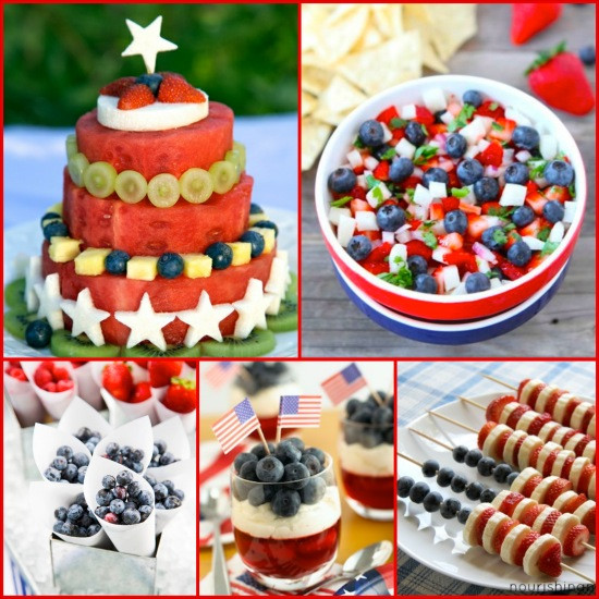 Healthy Fourth Of July Desserts  Healthy and Festive 4th of July Recipes