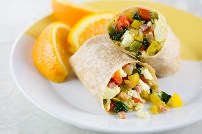 Healthy Freezer Breakfast  Recipe Freezer Friendly Breakfast Burritos