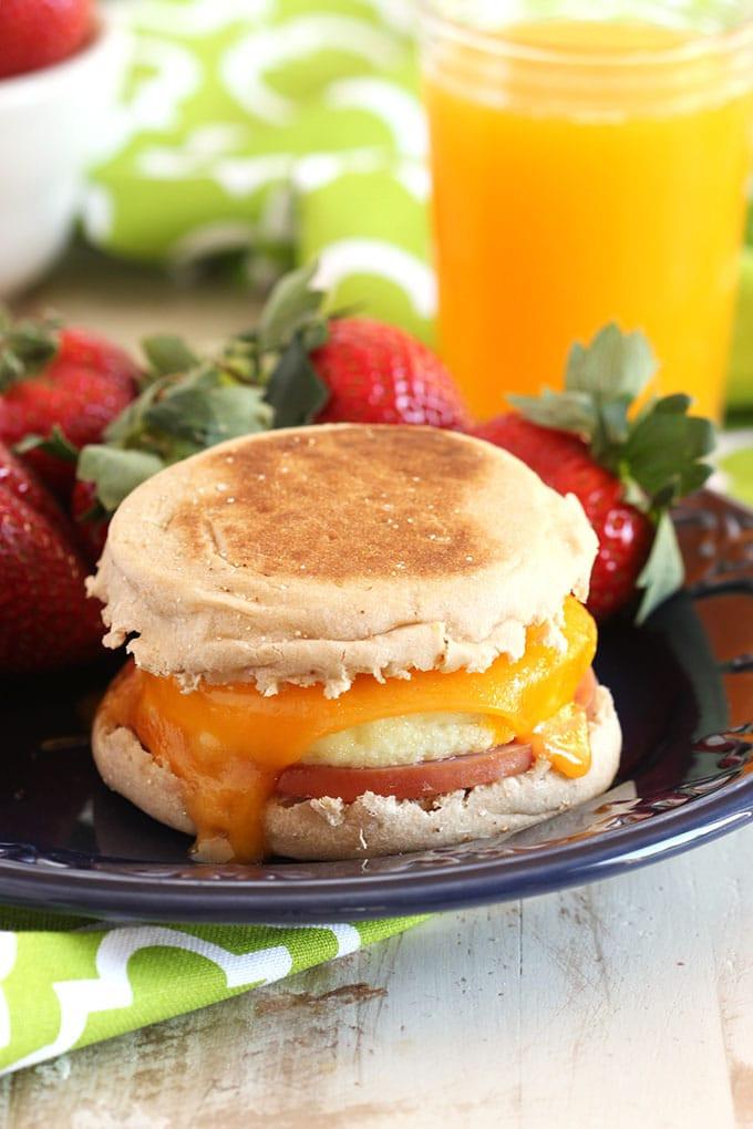 Healthy Freezer Breakfast  Make Ahead Freezer Breakfast Sandwiches Video The
