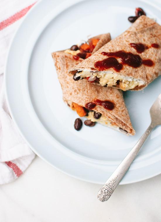 Healthy Freezer Breakfast Burritos  Healthy Freezer Breakfast Burritos Cookie and Kate