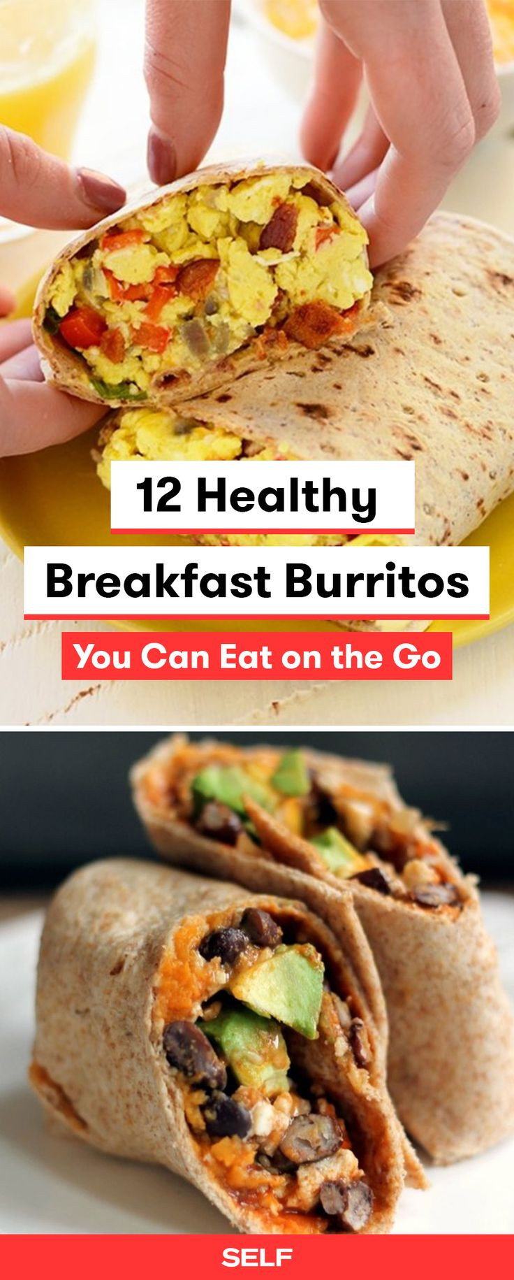 Healthy Freezer Breakfast Burritos  Best 25 Breakfast burritos ideas on Pinterest