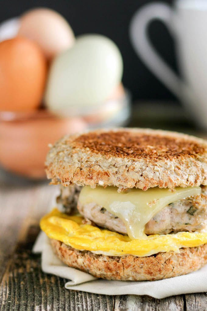 Healthy Freezer Breakfast Sandwiches  Healthy Freezer Friendly Breakfast Sandwiches