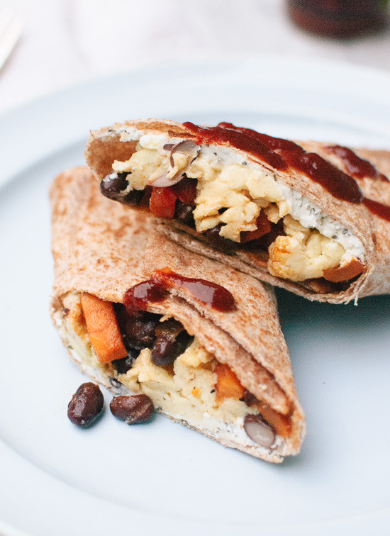 Healthy Freezer Breakfast  Healthy Freezer Breakfast Burritos Cookie and Kate