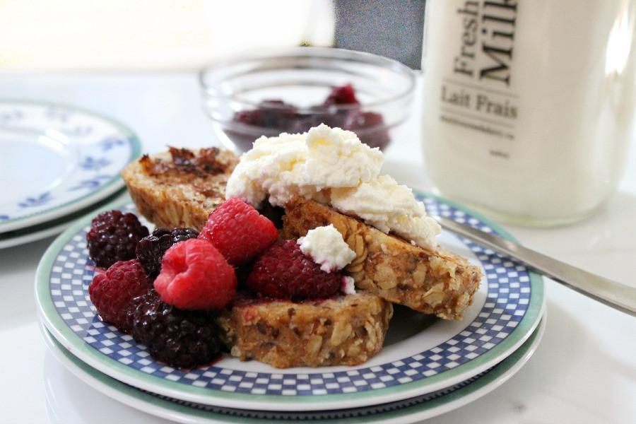 Healthy French Toast  healthy french toast