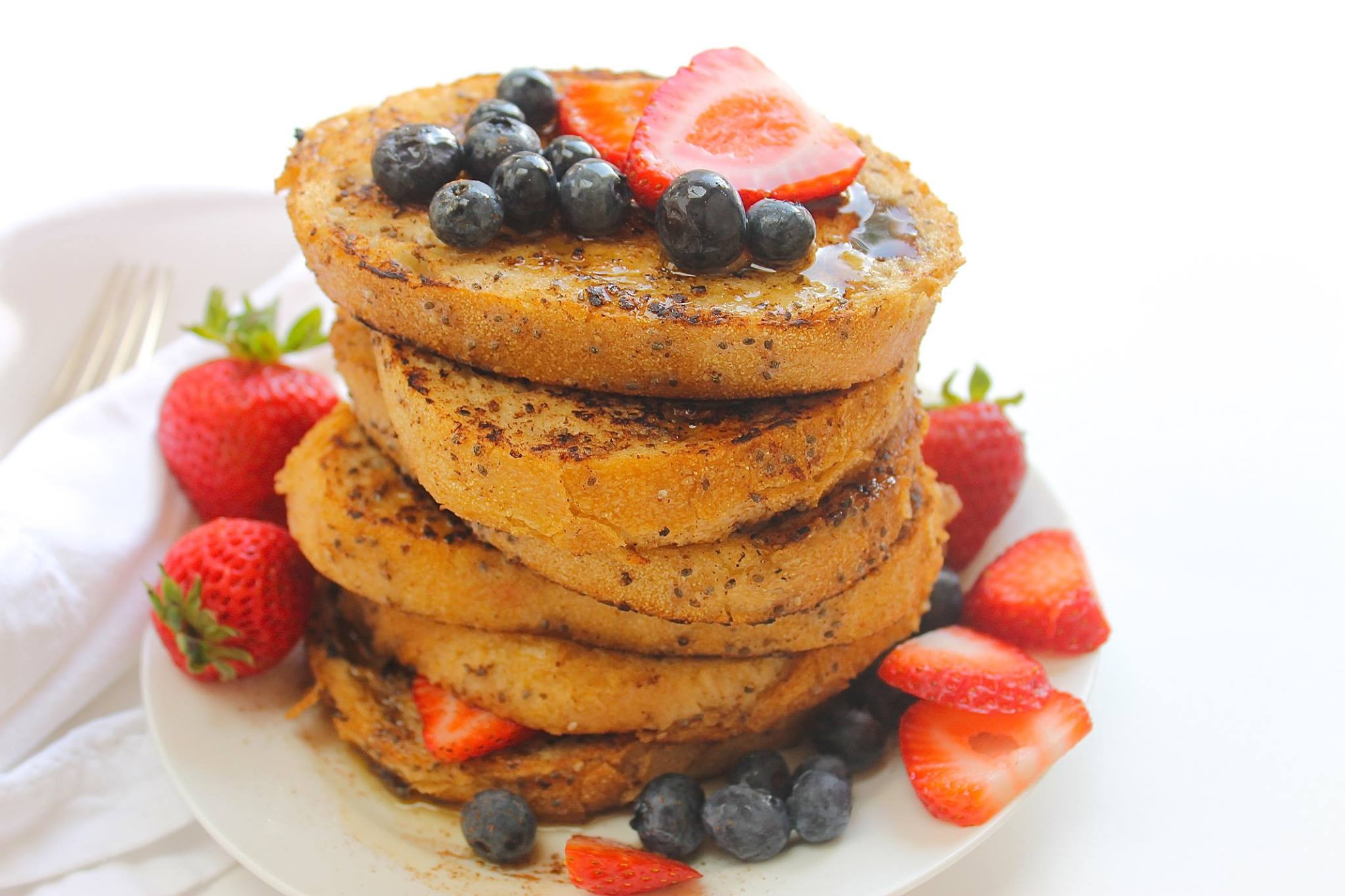 Healthy French Toast  Ooh la la Our Healthy French Toast Recipe