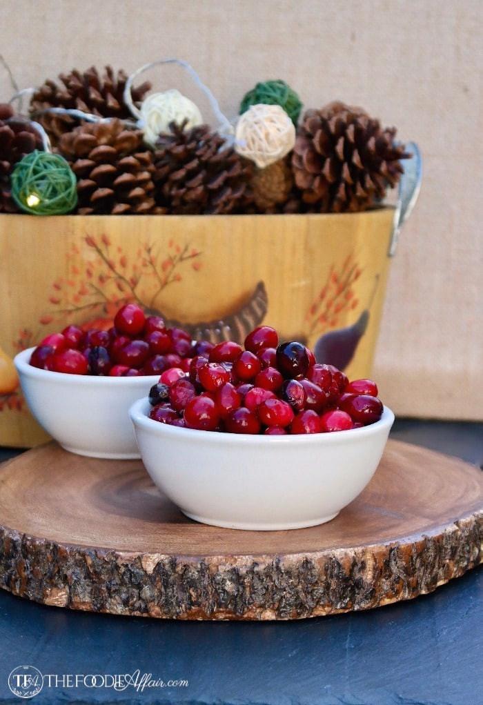 Healthy Fresh Cranberry Recipes  low calorie cranberry sauce
