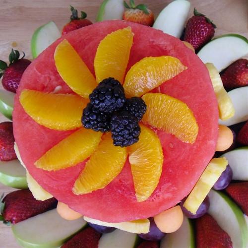 Healthy Fresh Fruit Desserts  Fresh Fruit Cake An Attractively Healthy Dessert recipe