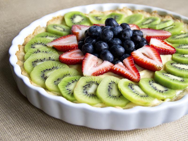 Healthy Fresh Fruit Desserts  Healthy Fresh Fruit Tart with Vanilla Pastry Cream