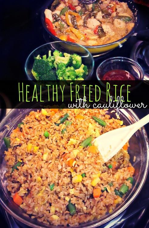 Healthy Fried Brown Rice  Healthy Cauliflower Fried Brown Rice – Simply Taralynn