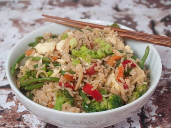 Healthy Fried Brown Rice  Healthy Fried Rice Recipe