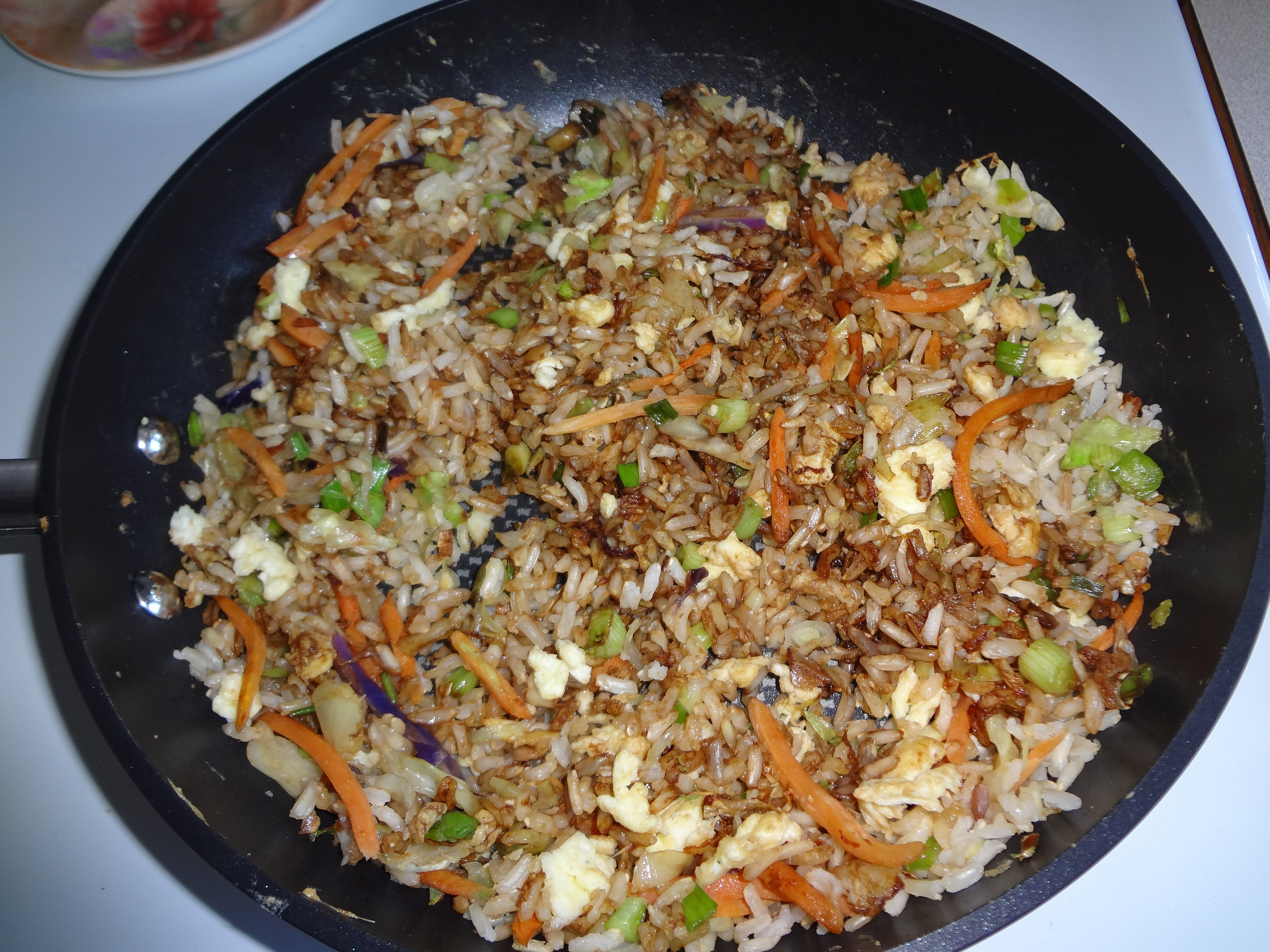 Healthy Fried Brown Rice  Healthy Fried Rice