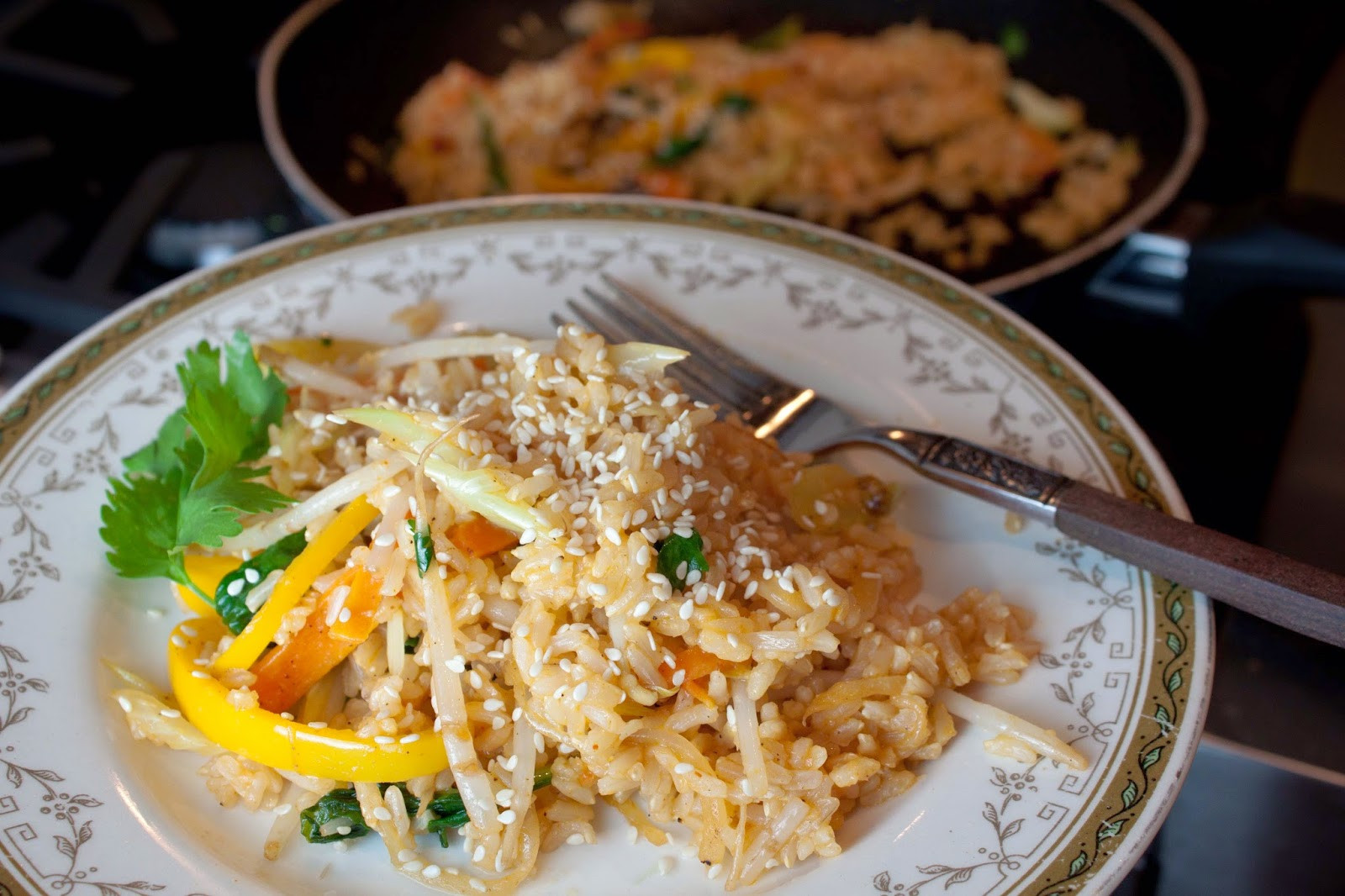 Healthy Fried Brown Rice  Fat & Happy Healthy Fried Brown Rice – Gozamos