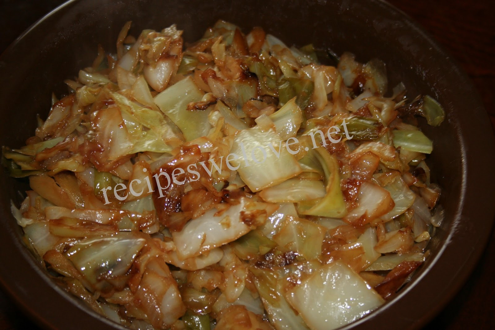 Healthy Fried Cabbage  cabbage