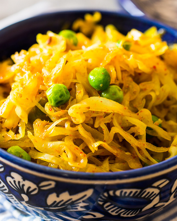 Healthy Fried Cabbage  Indian Fried Cabbage Recipe
