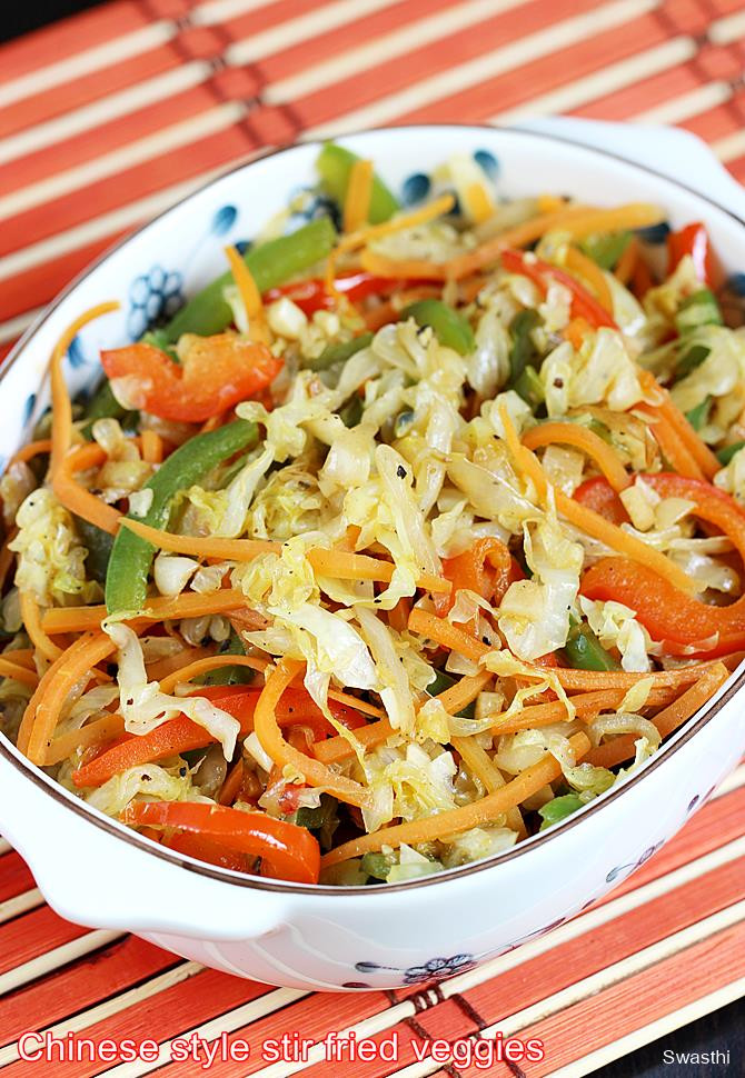 Healthy Fried Cabbage  Stir fried cabbage recipe
