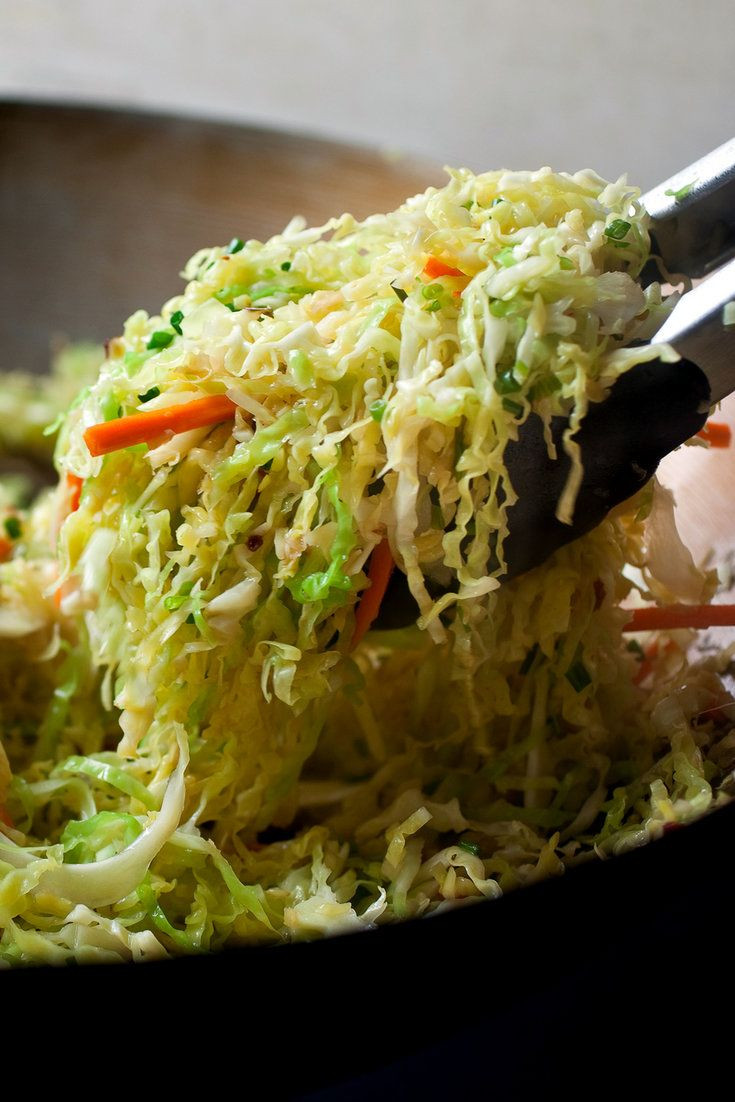Healthy Fried Cabbage  17 Best ideas about Fried Cabbage on Pinterest