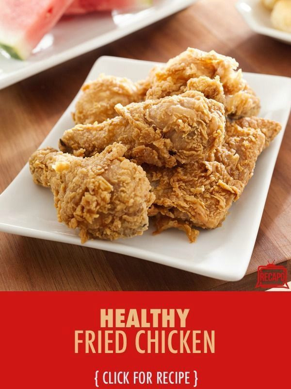 Healthy Fried Chicken Recipe  Dr Oz fort Food Healthy Mac & Cheese Fried Chicken