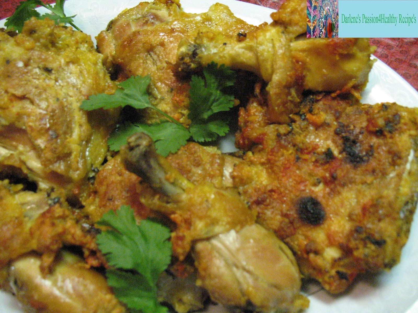 Healthy Fried Chicken Recipe  Darlene s Passion4Healthy Recipes Healthy Fried Chicken