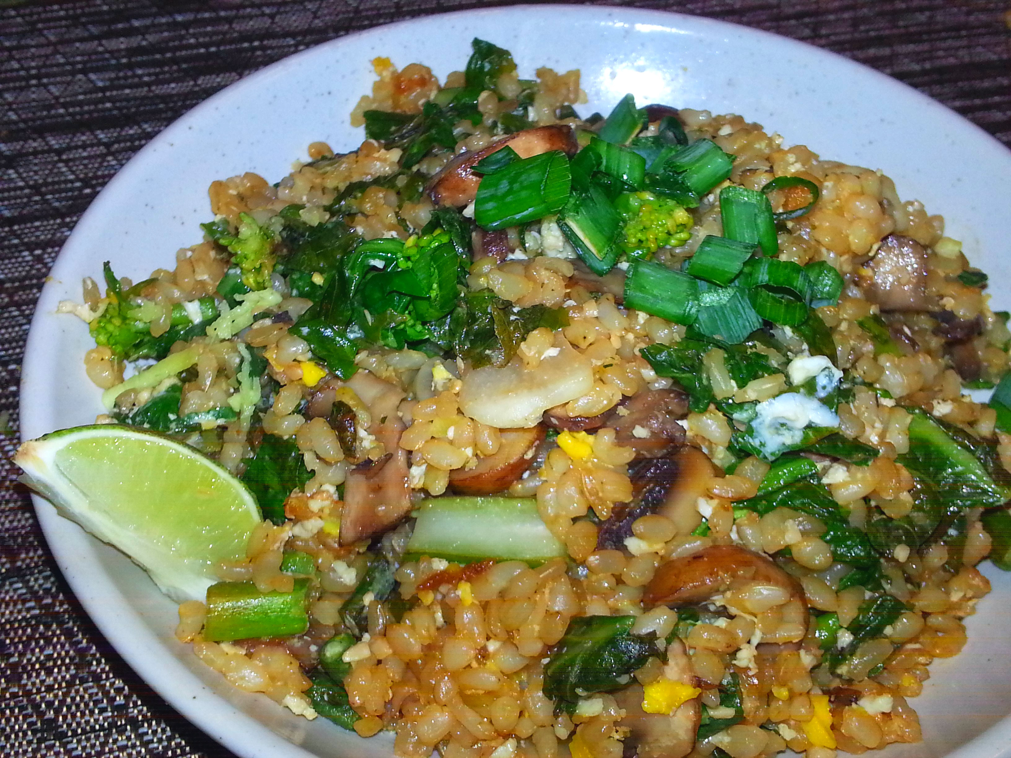Healthy Fried Rice Recipe  Recipe Healthy Fried Rice for Chinese New Year