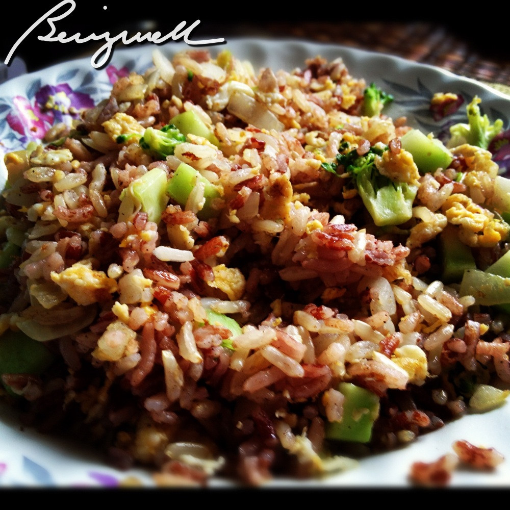 Healthy Fried Rice Recipe  Cooking Healthy Fried Rice Easy Rice Recipe Quick And