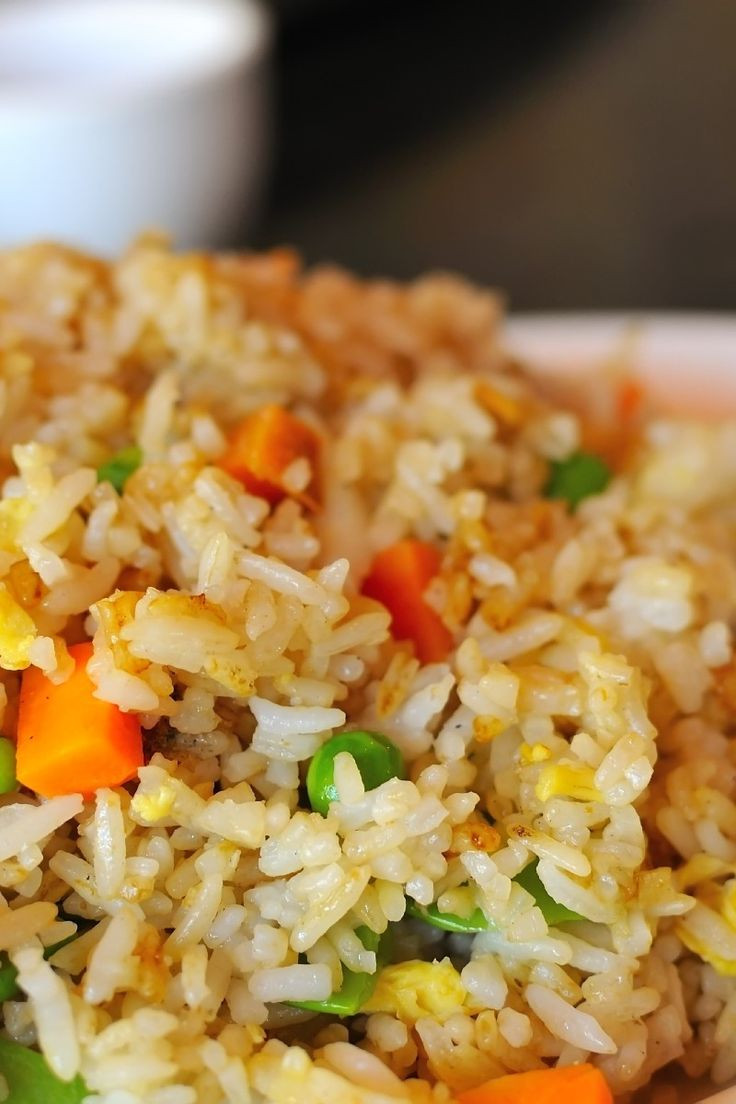 Healthy Fried Rice Recipe  27 best images about fried rice on Pinterest