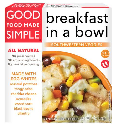 Healthy Frozen Breakfast  Best Frozen Breakfast Foods Healthy Frozen Breakfasts