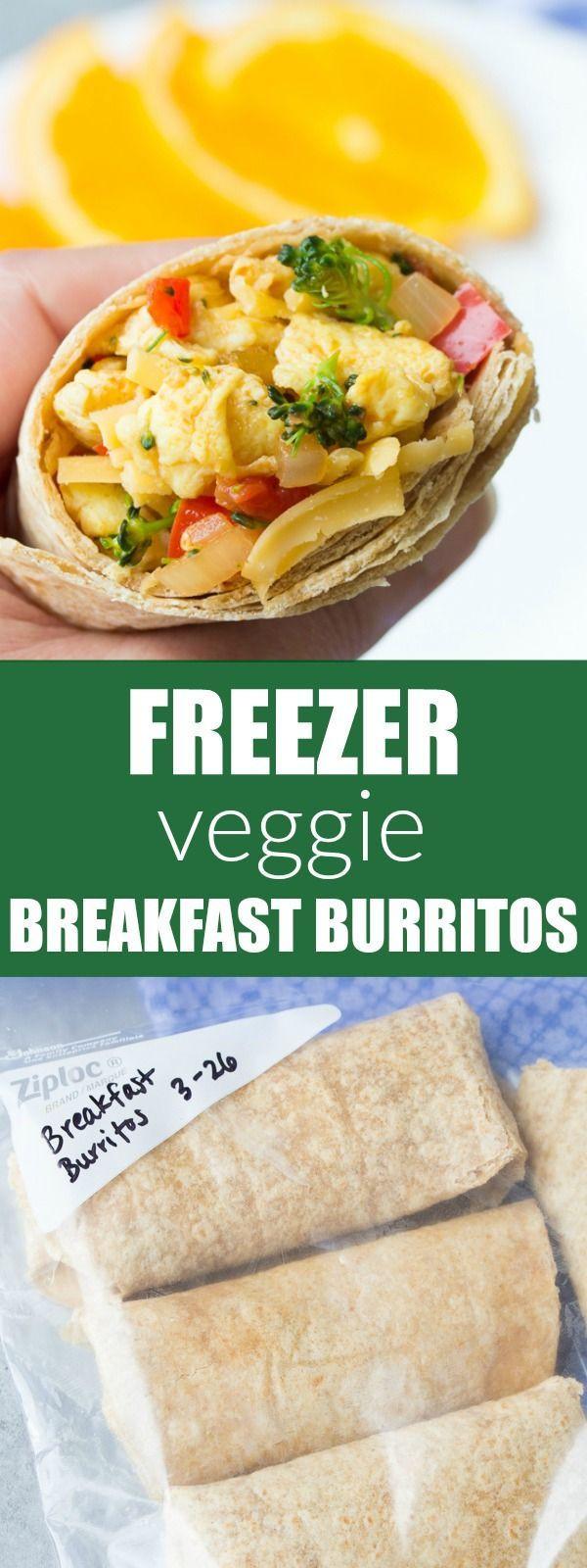 Healthy Frozen Breakfast Burritos  The 25 best Healthy breakfast burritos ideas on Pinterest