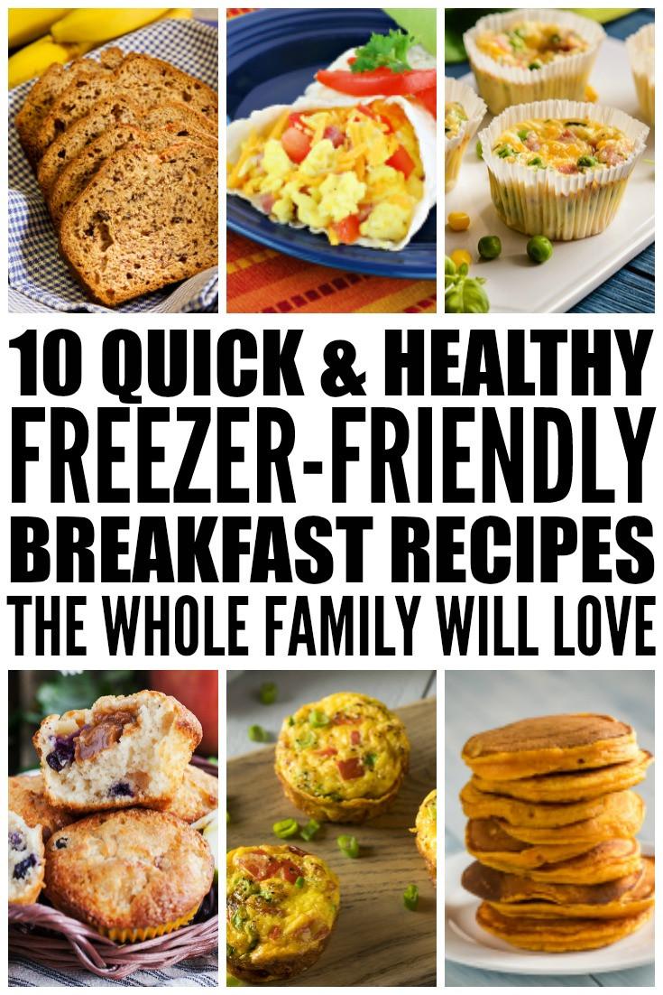 Healthy Frozen Breakfast Foods  10 Healthy Freezer Friendly Breakfast Recipes You ll Love
