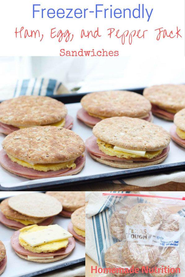 Healthy Frozen Breakfast Foods  Best 25 Freezer breakfast sandwiches ideas on Pinterest