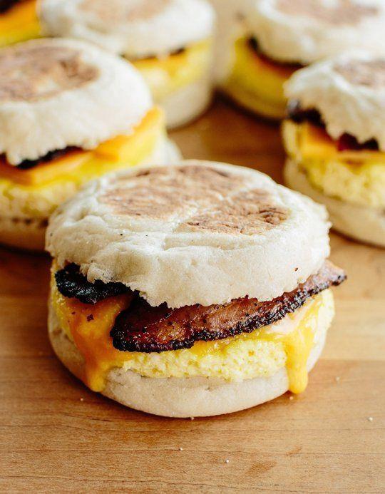 Healthy Frozen Breakfast  17 Best ideas about Freezer Breakfast Sandwiches on
