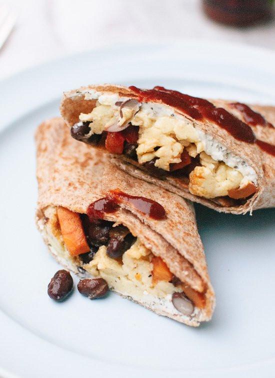 Healthy Frozen Breakfast  Healthy Freezer Breakfast Burritos Cookie and Kate