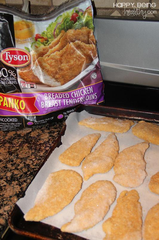 Healthy Frozen Chicken Tenders  Costco Panko Chicken