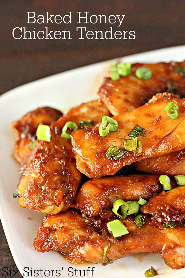 Healthy Frozen Chicken Tenders  100 Chicken Tender Recipes on Pinterest