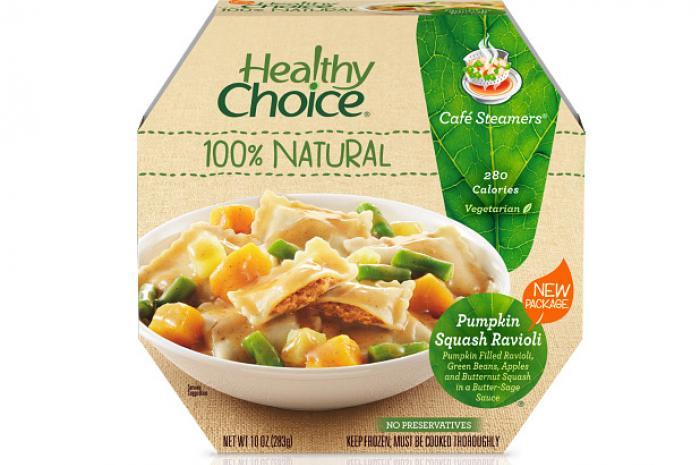Healthy Frozen Dinners  13 Healthy Choice Café Steamers Pumpkin Squash Ravioli