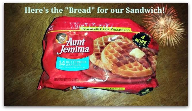 Healthy Frozen Waffles  Healthy Breakfast Sandwich with Aunt Jemima Frozen Waffles