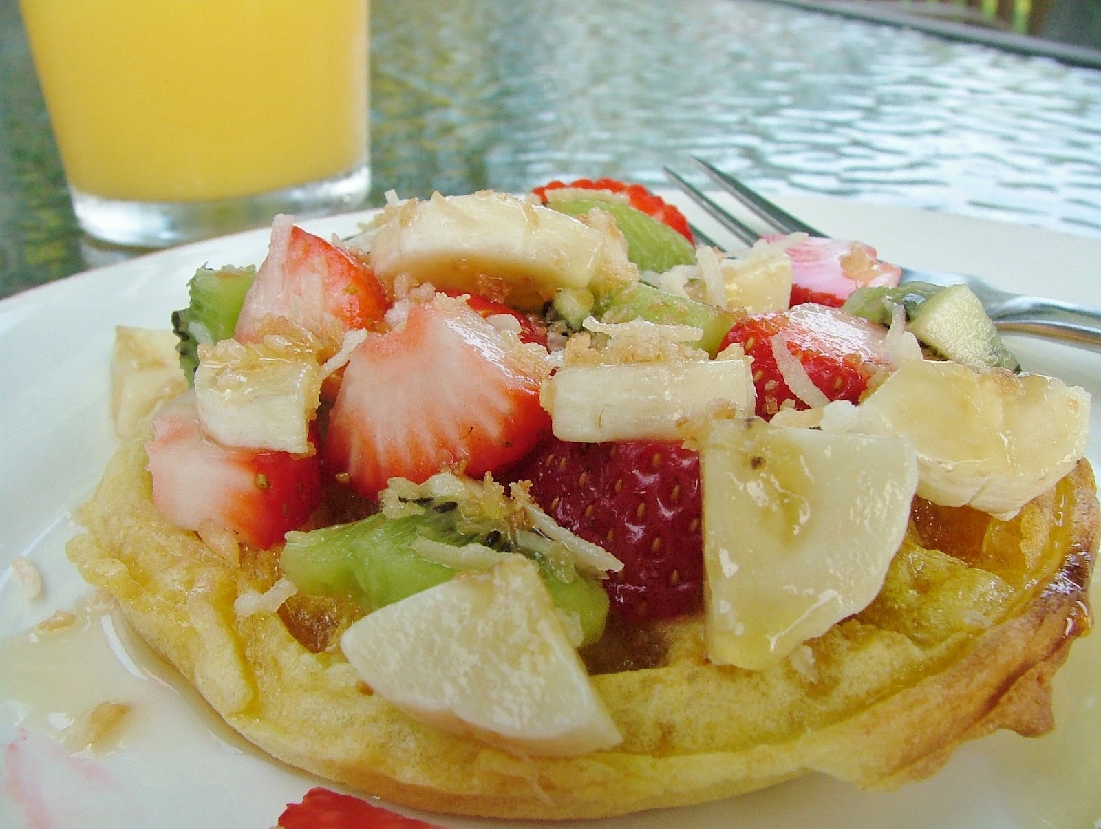 Healthy Frozen Waffles  The Cook a Palooza Experience Three Healthy Ways to Top