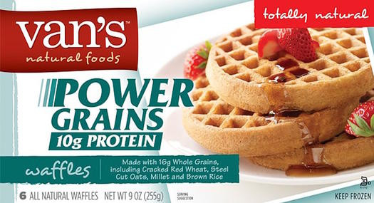 Healthy Frozen Waffles  Healthy High Carb Breakfasts That Are Actually Good for