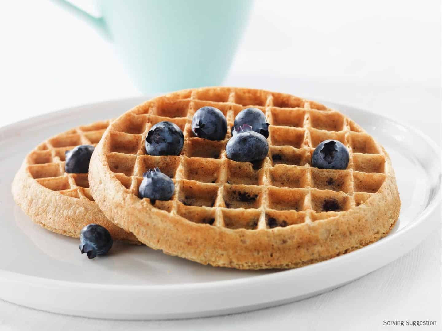 """Healthy Frozen Waffles  Your Go To List of Healthy Frozen Meals to Go To for """"Easy"""