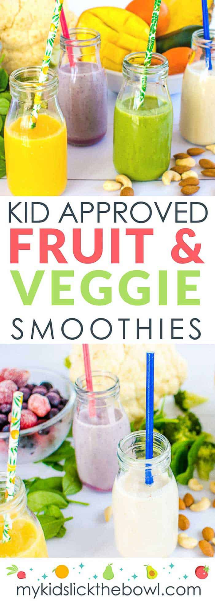 Healthy Fruit And Vegetable Smoothies  Fruit and Veggie Smoothies For Kids