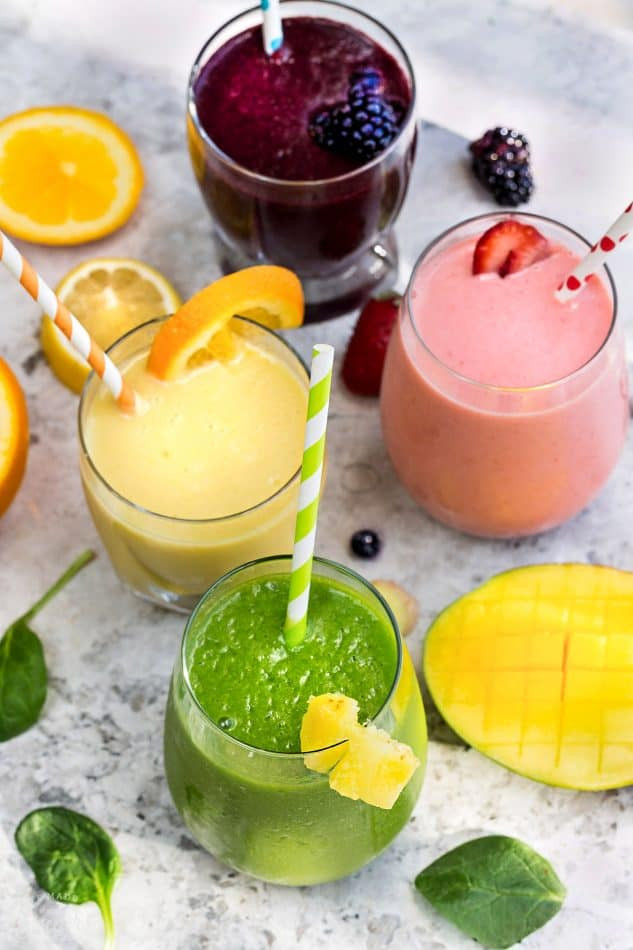 Healthy Fruit And Vegetable Smoothies  5 Healthy & Delicious Detox Smoothies Video Life Made