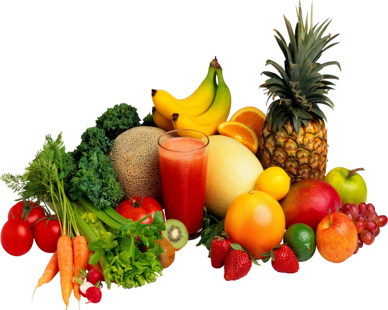 Healthy Fruit And Vegetable Smoothies  Smoothie Ingre nts Fruits and Ve ables