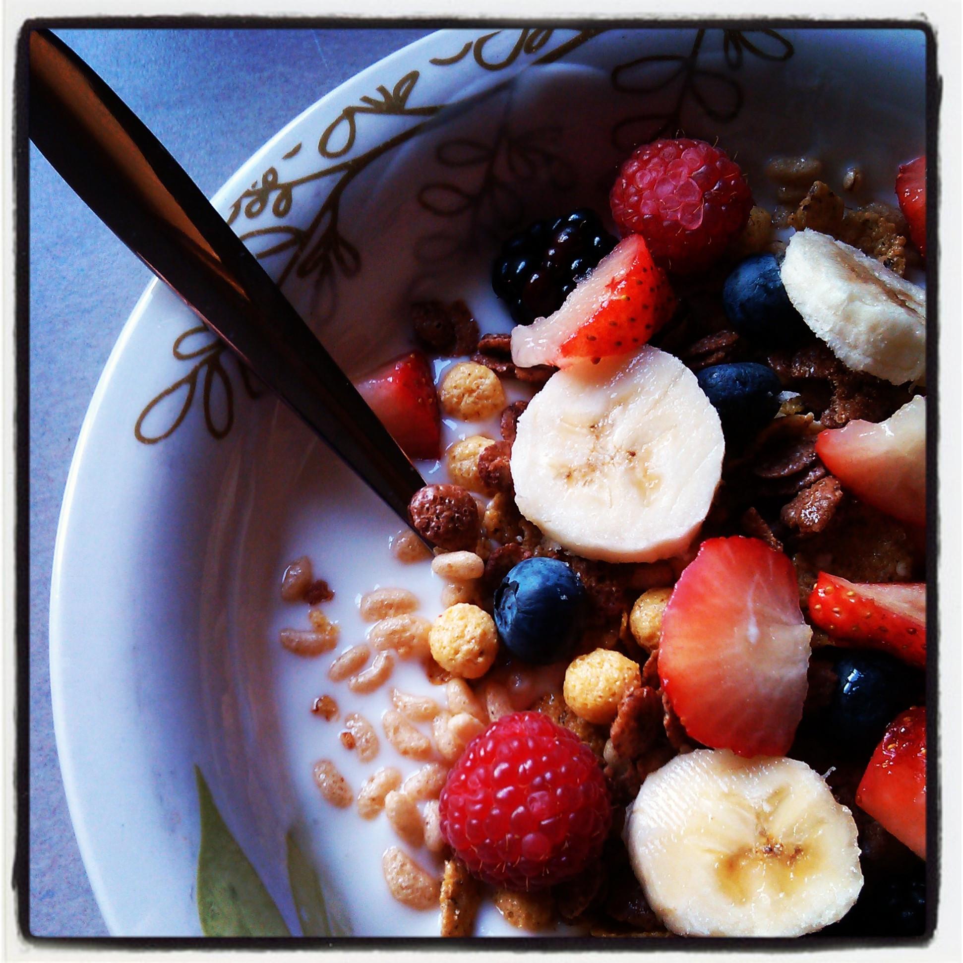 Healthy Fruit Breakfast  Healthy Fruit and Kefir Breakfast A Dish N Thyme