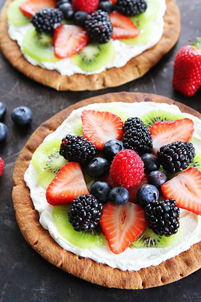 Healthy Fruit Breakfast  Breakfast Fruit Pizzas
